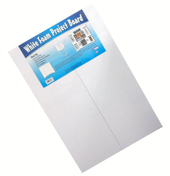 Foam Project Board, White 36