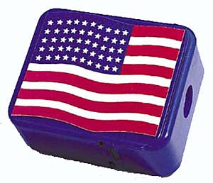 Pariotic Flag Pencil Sharpener, #3145