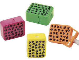 Paw Print Pencil Sharpener, #3155