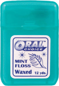 Dental Floss, Mint, Waxed, #33321