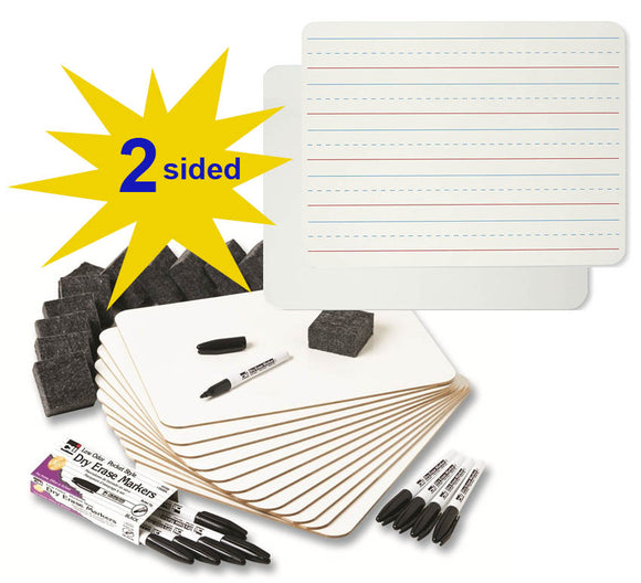 Dry Erase Lapboard Class Pack, #35030