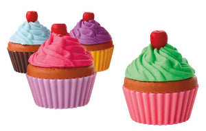 Cupcake Eraser Assortment,  #3697