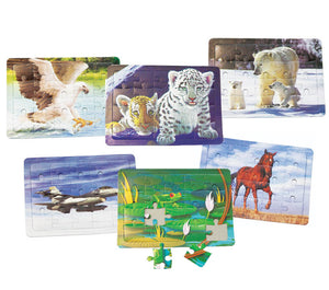 Jigsaw Puzzle Assortment, #3758