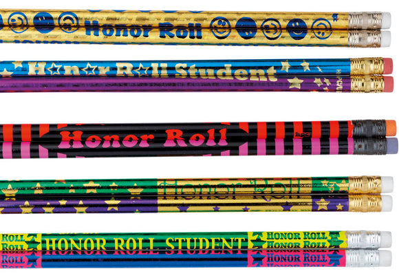Honor Roll Pencil Assortment, #40021