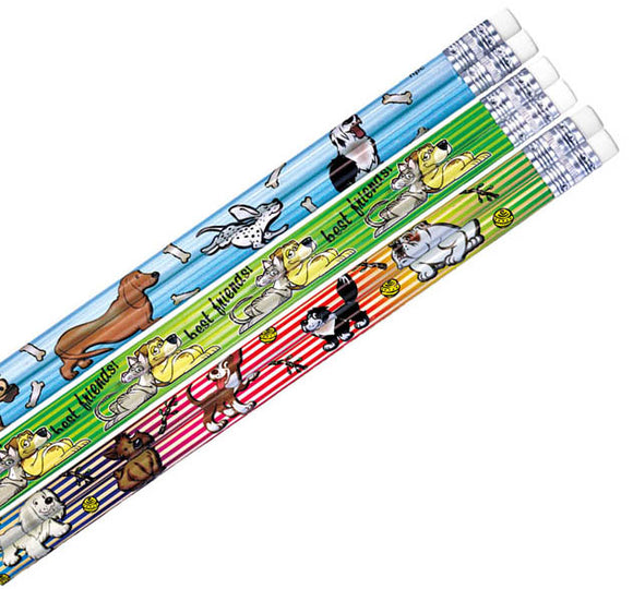Dog & Cat Pencil Assortment, #40038