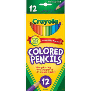 Crayola Colored Pencils,  #4012