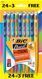 Bic Xtra Strong Mechanical Pencil, .9mm, 24+3 FREE! (27 pencils/pk) #430631