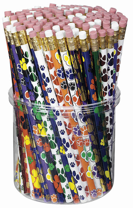 Paw Power Pencil Tub,  #4444