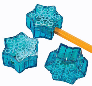 Snowflake Pencil Sharpener, #45037