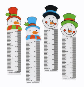 Snowman Ruler Bookmark,  #45692