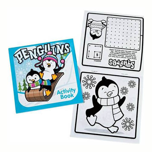 Winter Penguin Activity Book, #4746