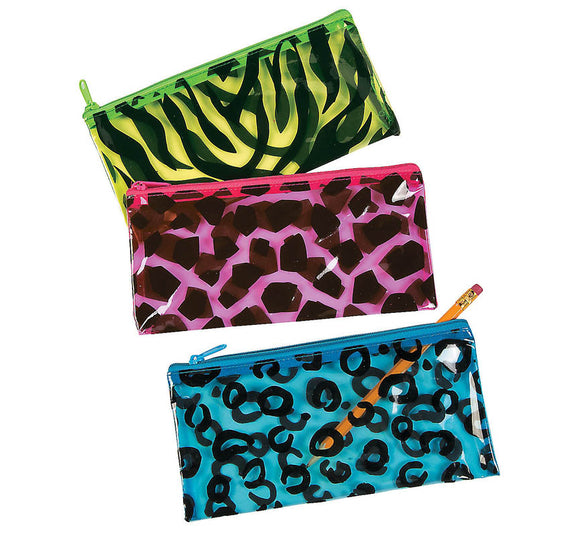 Jungle Vinyl Jungle Pencil Pouch, #47537
