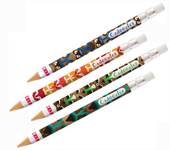 Zebra Cadoozles Woodland Critters Mechanical Pencil, #512115