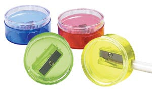 Color Circle Pencil Sharpener, #52938