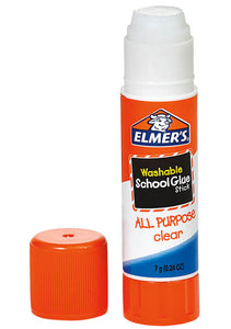 Elmer's Washable Clear Glue Stick SSH (1/unit), #5561E (E-60)