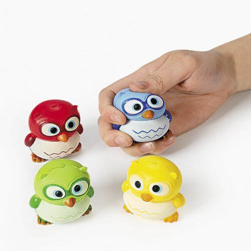 Hoot Owl Stress Ball, #5986