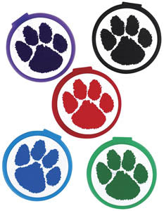 Paw Print Bookmarks,  #60018
