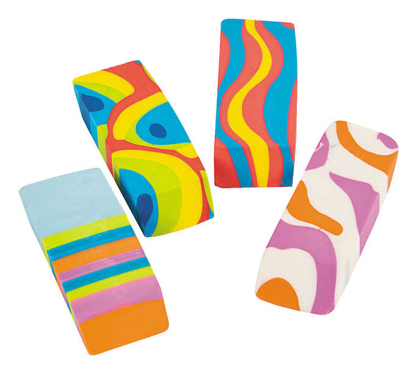 Wedge Eraser, Colorburst Assortment #606363