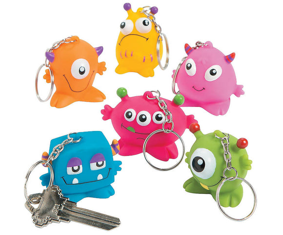 Squeeze Monster Keychain, #60797