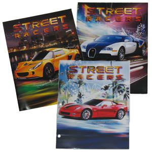 Street Racer Pocket Folder, #6138