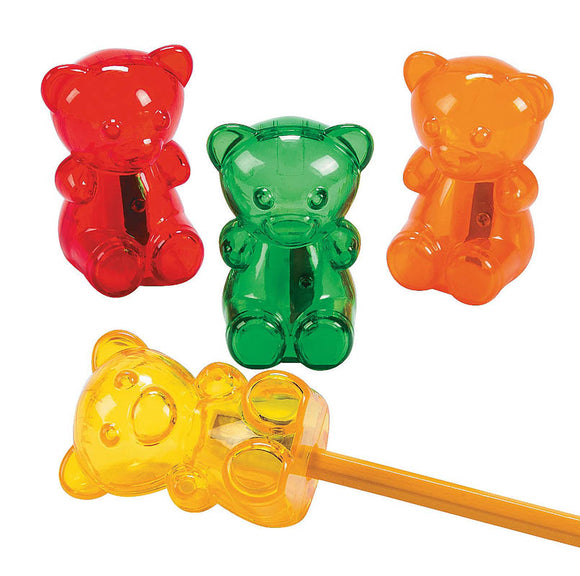 Gummy Bear Pencil Sharpener, #678960