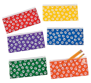 Pencil Pouch, Paw Print, #686504