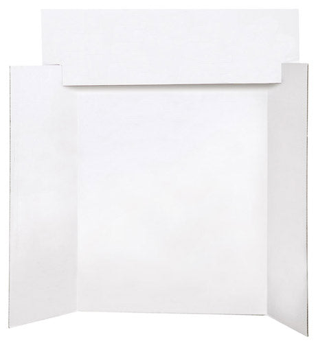 Project Header Boards, White, #74012