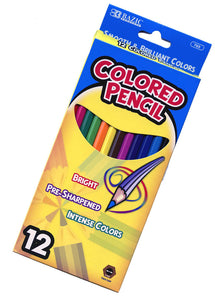 "Colored Pencil Set,  7"" #765"