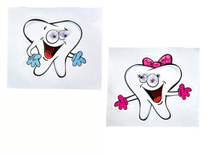 Wiggleye Teeth Sticker, #77256