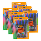 Bic Cristal Bold Pen - Fashion Inks (3 pks of 24/unit, #18838  (B-28)