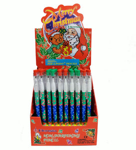 Christmas Pop-a-Point Pencil,  #8283