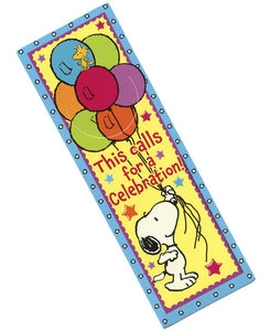 Snoopy Birthday Bookmark, #834202