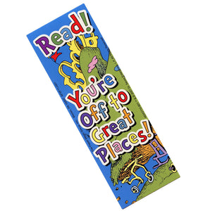 Dr. Seuss You're Off to Great Places Bookmarks,  #834311