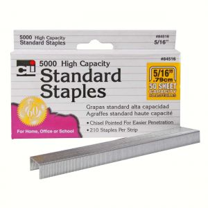 Standard Staples, 5,000 ct, #84500