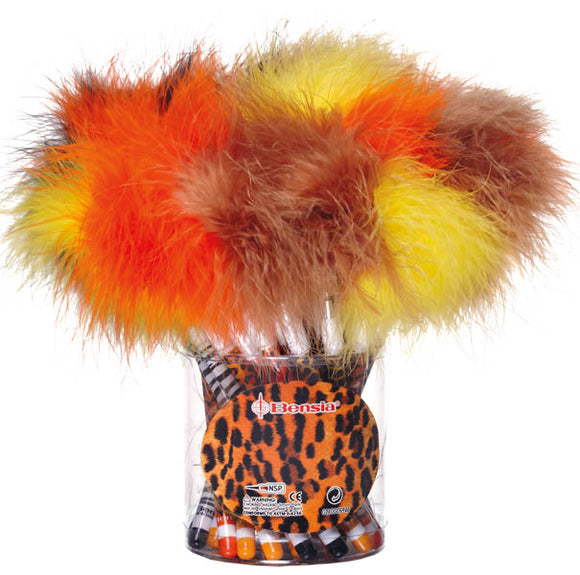 Animal Prints Feather Pen, #90090