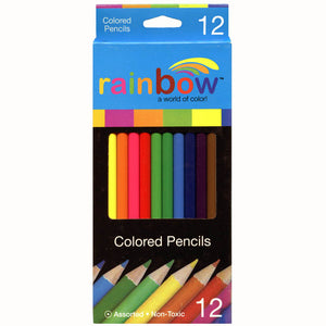 Rainbow Colored Pencil Set, 7 inch, #9054
