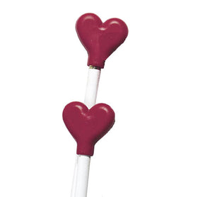 Valentine Heart Pencil Top Eraser,  #935999