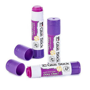 Glue Stick, Purple dries Clear, #95628
