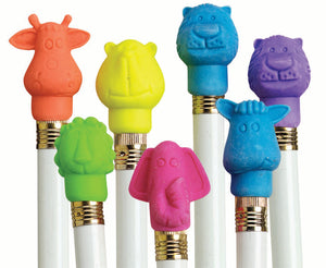 Animal Cap Pencil Top Eraser,  #9769