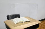 Personal Space ™ Desk Dividers, Large: Middle-High School (24/cs) 2 choices!