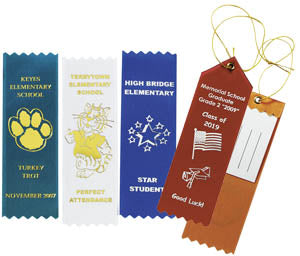 Custom Ribbons Awards, 6 Inch, AS012