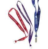 Custom Imprint 1 inch Polyester Lanyard, AS059