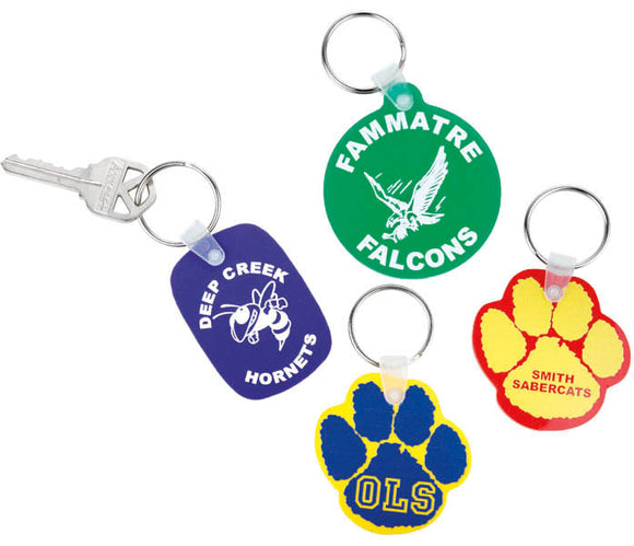Custom Imprint KeyTag, AS075