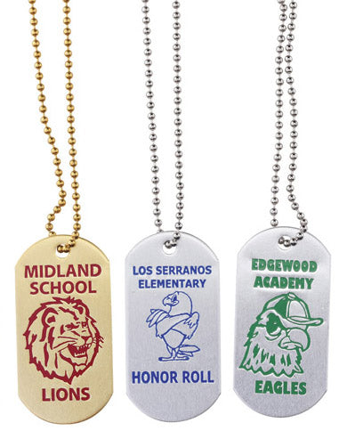 Custom Die Struck Dog Tag, AS081