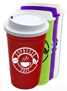 Custom Print Insulated Traveler Cup, ASAC14