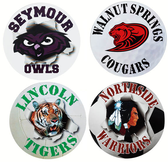 Custom Imprint Sports Magnet, ASMGNT