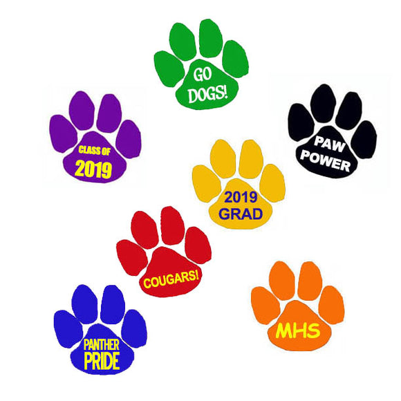 Custom Print Paw Tattoo, ASP069
