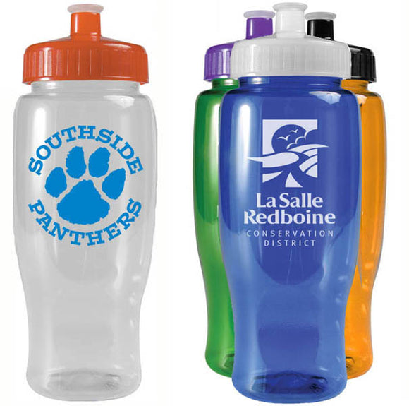 Custom Imprint 27 oz Grip Bottle, ASTB27