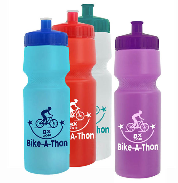 Custom Imprint 24 oz Bike Bottle, ASWB24