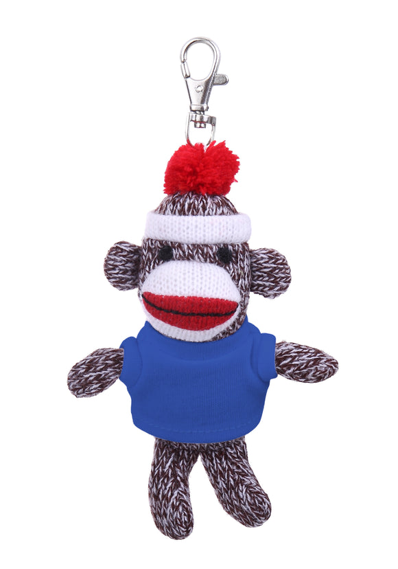 Sock Monkey Key-Chains (3/unit), #125604